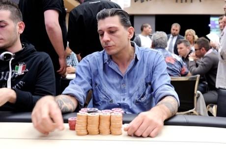 Ivan Losi, líder del Día 2 del PokerStars IPT Campione 2012