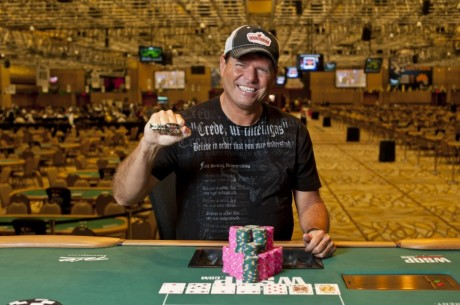 2012 World Series of Poker Dag 5: Force og Zeidman vant hver sitt bracelet