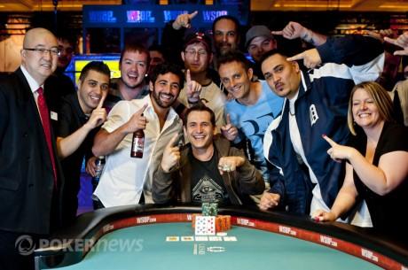 Първа гривна от Световните серии по покер 2012 за...