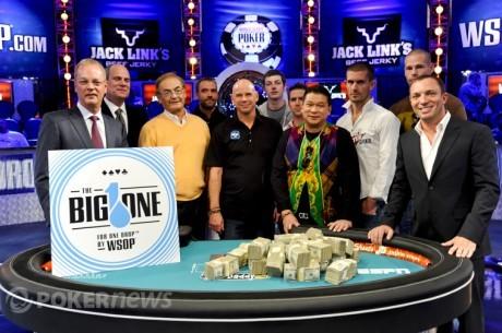 42 graczy potwierdzonych w Big One for One Drop