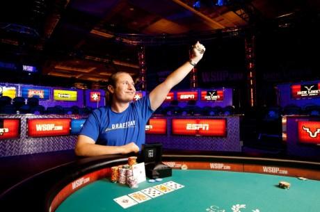 Hastings første WSOP-cash gav et armbånd