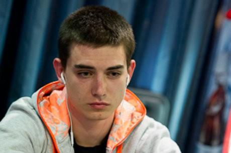 Valentino Konakchiev, líder del Día 1B del PokerStars Eureka Poker Tour Bulgaria