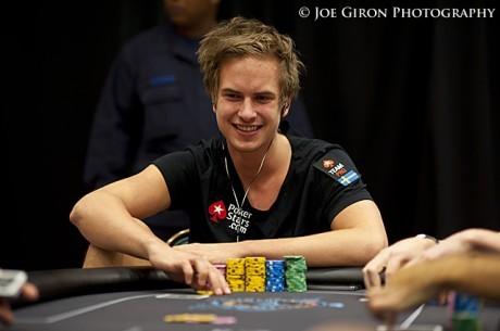 WSOP-sztár lesz a zöldfülűből: Viktor Blom 347,000 dollárt nyert az első online napján