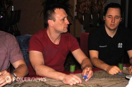 Algirdas Saveikis  ir Andrejus Jakovlevas keliauja į lemiamą Eureka! pokerio turo dieną