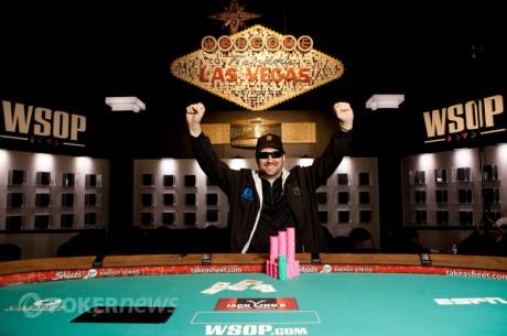 Phil Helmuth спечели дълго жадуваната 12-та WSOP гривна, Ivey...
