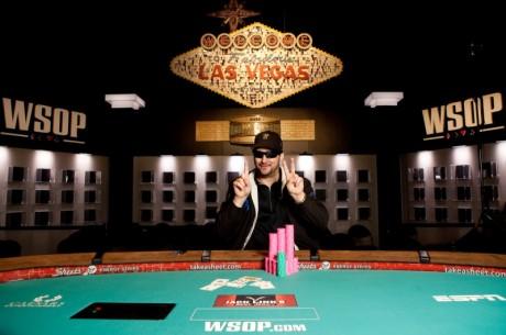 WSOP Boulevard: Phil Hellmuth wint twaalfde bracelet; Ivey grijpt net mis