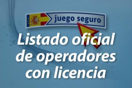 Lista oficial de las empresas con licencia para operar en España