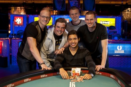 2012 World Series of Poker Dag 21:Ylon Schwartz og Timothy Adams er nye bracelet vinnere