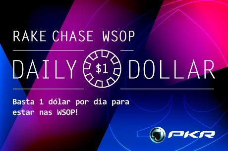 """""""jnts"""" Ganha a Daily Dollar WSOP Rake Chase da PKR"""