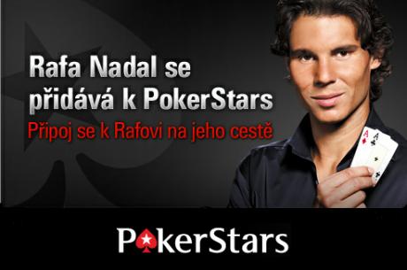 Rafael Nadal je pod křídly PokerStars!