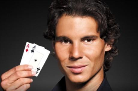 Rafael Nadal Assina Pela PokerStars