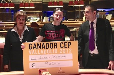 Ignacio Borreguero, ganador del Evento Principal del CEP Valladolid 2012