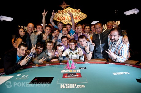 2012 World Series of Poker Day 29: Kovalchuk Wins; Glazier Goes Heads-Up, $50K PPC Kicks Off