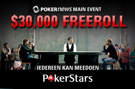Kwalificeer je voor het $30.000 GTD PokerNews Main Event op PokerStars!