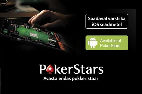 Mängi nüüd pokkerit läbi mobiiltelefoni või tahvelarvuti