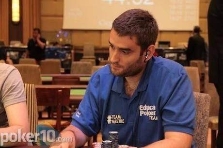 Raúl Mestre es el gran favorito en la mesa final del WPT de Madrid