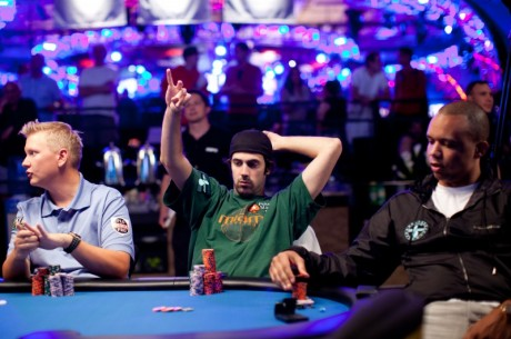 WSOP Big One for One Drop - Tafelindeling Dag 2