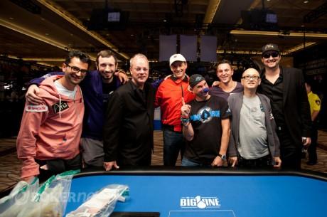 WSOP Big One for One Drop - Esfandiari leidt finaletafel met Trickett, Hellmuth & Laliberté