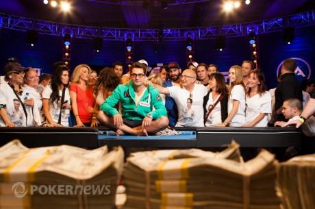 WSOP 38 diena: Esfandiari laimi $18 milijonų; Kristijonas prasimuša į antrąją dieną ir...