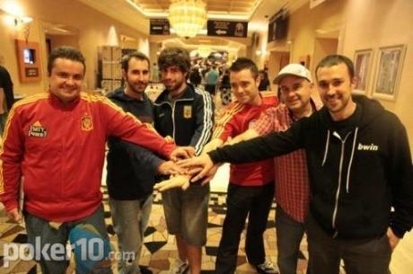 Día 3 del Main Event: 6 españoles frente al peligro