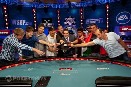 WSOP 2012 Day 7: Визначено склад фінального столу WSOP Main Event