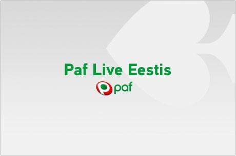 Paf Live freerollid Tartus, Viljandis, Rakveres ja Pärnus
