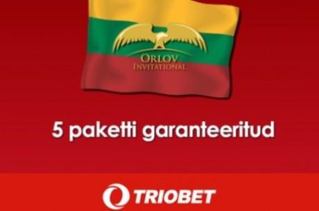 Täna algab Triobetis kvalifitseerumine menukale pokkeriturniirile Vilniuses