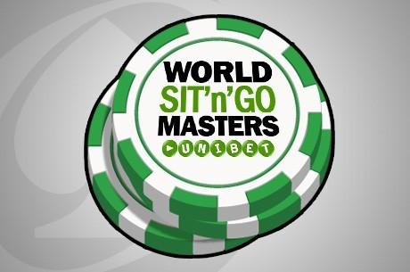 Delta ved Sit 'n' Go Master Main Event i Praha med Unibet Poker