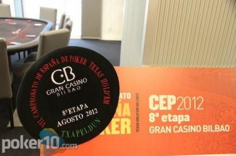 Comienza el CEP Bilbao 2012 con Javier Basarrate como chip leader del Día 1A
