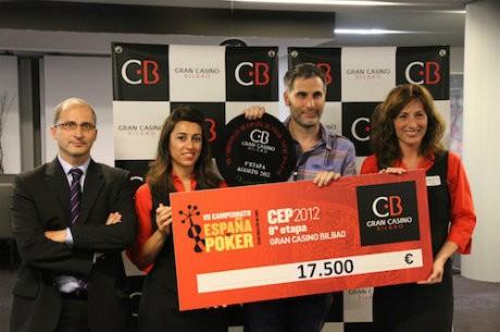 Javier Basarrate, ganador del Evento Principal del CEP Bilbao 2012
