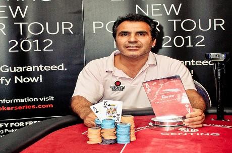 "Yucel ""Mad Turk"" Eminoglu Wins Genting Poker Series Stoke"
