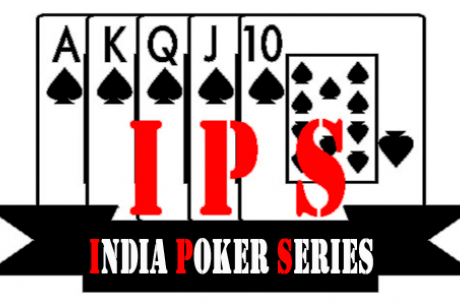 India Poker Series' Chapter 17 from 20-23 September