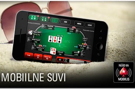 PokerStars Mobile App toob suverõõmud pokkerilauda!