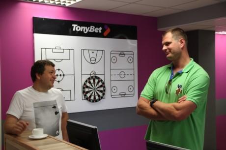 Tonybet avas Tallinnas Eesti esimese panustamispunkti