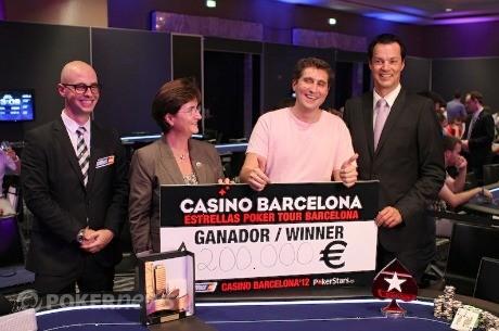 Lorenzo Sabato devora la mesa final del Estrellas Poker Tour de Barcelona