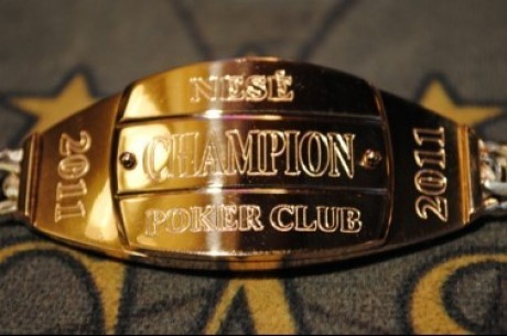 Rugpjūčio 27 - 30 d. Nesės pokerio klube kovos dėl auksinės apyrankės!