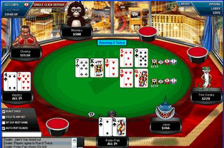 """PokerStars está preparando la opción """"Run it Twice"""""""