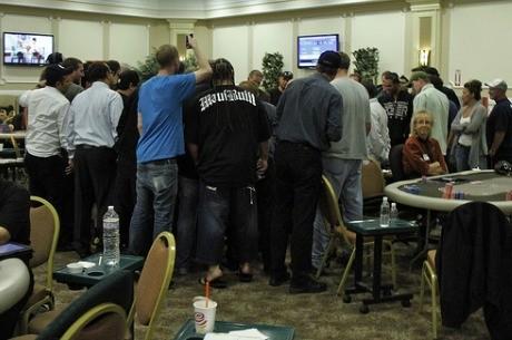 Estalla la burbuja en el WPT Legends of Poker y Cyrus Fazard es el líder