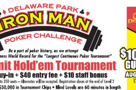 Delaware Park bate Recorde de Guinness para Torneio Mais Longo