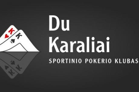 """""""Du Karaliai"""" kviečia laimėti pakuotę į Europos šešiaviečių stalų pokerio..."""