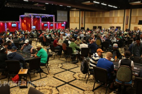 WinStar World Casino River Poker Series Main Event Day 1c: Nathan Gamble Leads
