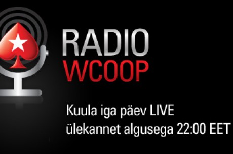 WCOOP show PokerStars raadios
