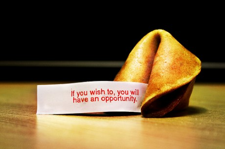 Късметът е това, което (ти) се случва, когато...