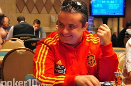 Tomeu Gomila 'Amatos', en la recta final del Partouche Poker Tour