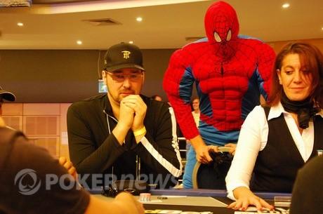 Spiderman ameniza el Día 1A del WPT de Malta