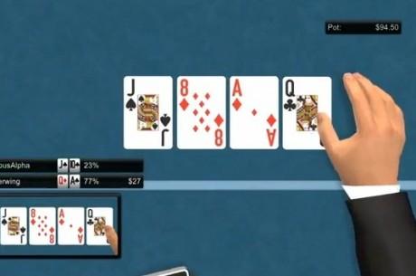 PKR TV:Видео от кеш игра на лимити $0.50/$1:блъфове, тилт...