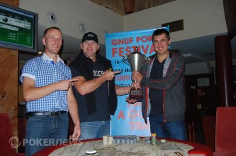 """GNUF pokerio fesfivalyje"" itališką čempiono taurę iškovojo Aleksandras Nagreckis"