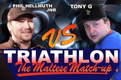 VIDEO: Tony G ja Phil Hellmuthi triatloni viimane otsustav ala: jooksmine