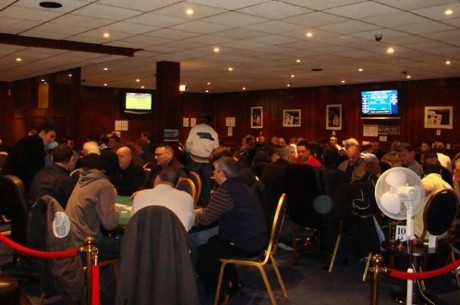 The Royal Surrey Cardroom Launch The BIGGER 100