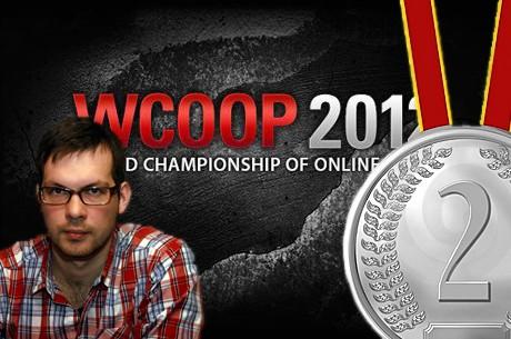 Lietuviai internete: WCOOP čempionato pažiba Justas Semaška - II vieta ir $60,450!